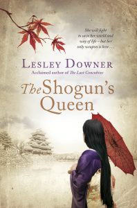The Shogun's Queen by HWA member Lesley Downer