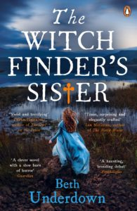 The Witchfinder's Sister by HWA member Beth Underdown